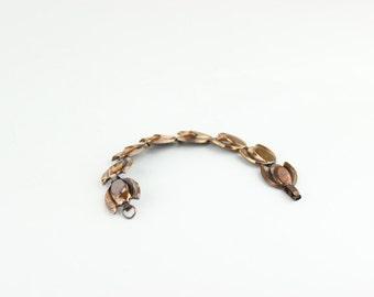 Vintage Copper Renoir Atomic Bracelet