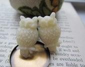 Owl Plugs Gauges Cream