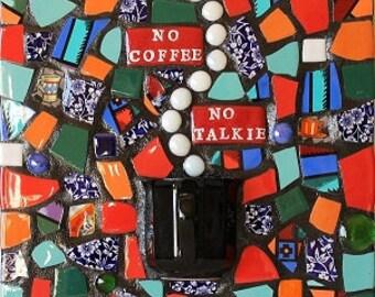 Mosaic Wall Art Coffee Lovers