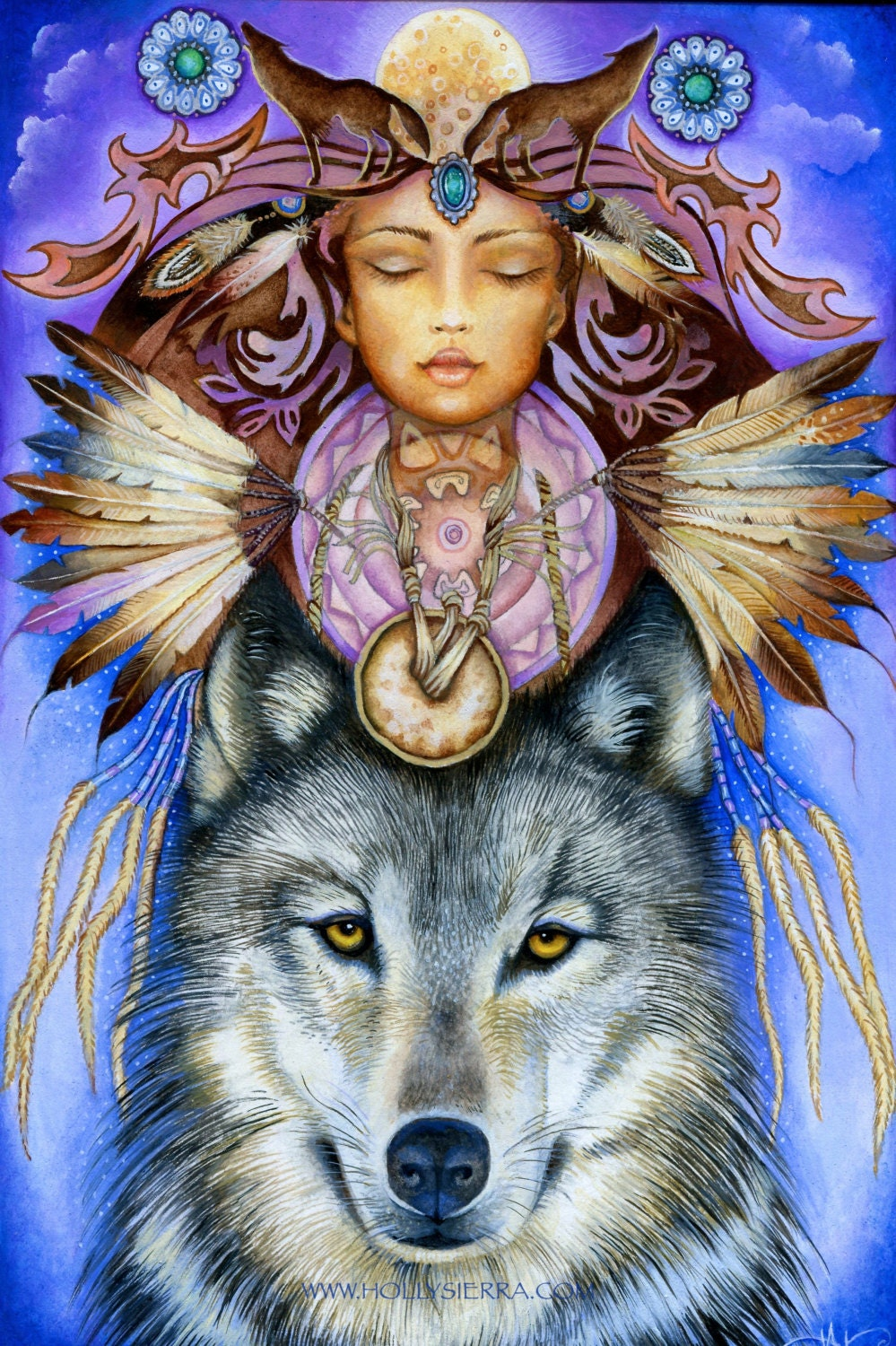 It American Teen Is: Wolf Spirit A Native American Shapeshifter