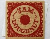 You're the Jam in My Doughnut Card