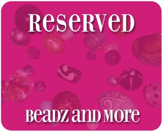 RESERVED Starfish Earrings, Lampwork Earrings, Ocean Earrings, Seashell Earrings, Ocean Earrings, Beach Earrings, Beadwork Earrings