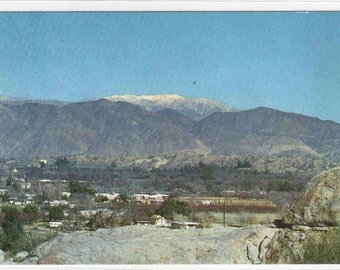 Panorama Hemet San Diego California postcard