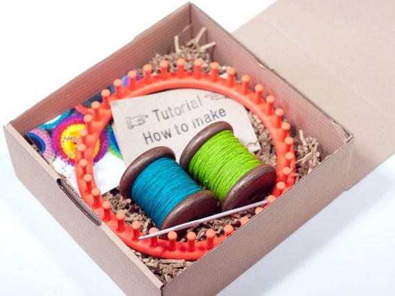 Knitting Diy Kits : Diy kit knit baskets medium paper twine personalize