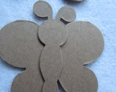 Butterfly DIY Kits- Blank Chipboard Butterfly Shapes for Decorating-Raw Unfinished Chipboard