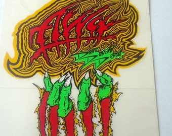 Vintage Alva Dave Duncan Skateboard Sticker