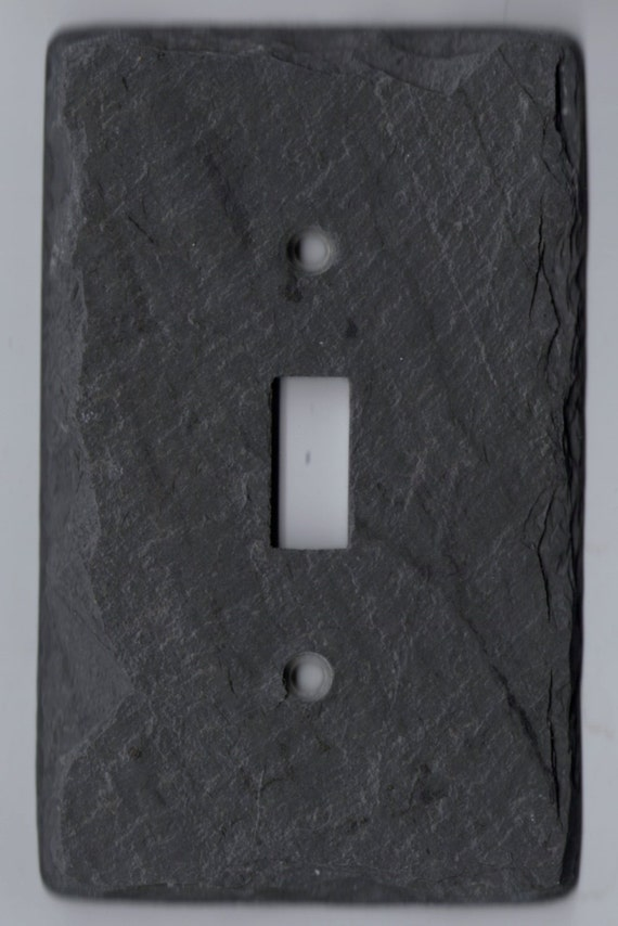 Slate Switch Plate Toggle Stone Light Switch Rustic Vermont