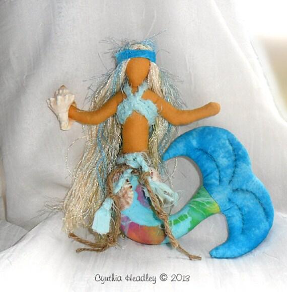 Mermaid Art Doll - Inspirational Mermaid