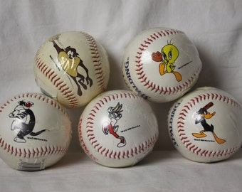 Cartoon Baseball Sylvester Vintage NIP Regulation Size