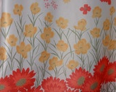 Vintage Vera Neumann Shower of Flowers Blouse