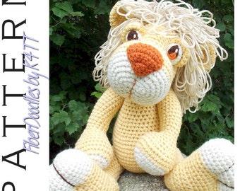 INSTANT DOWNLOAD : Roarin Roland the Lion Cub Crochet Pattern
