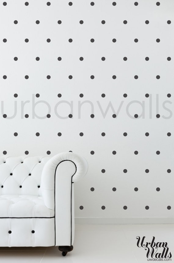 Vinyl Wall Sticker Decal Art - Small Polka Dots