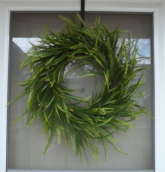 Items Similar To Front Door Wreath Wreath Boxwood Wreath