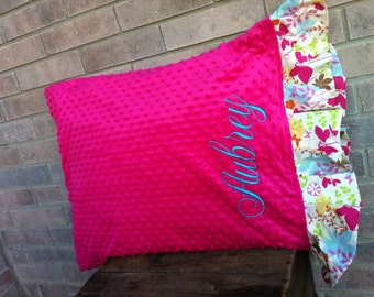 Personalized Standard Size Pillow Case over 200 fabric choices