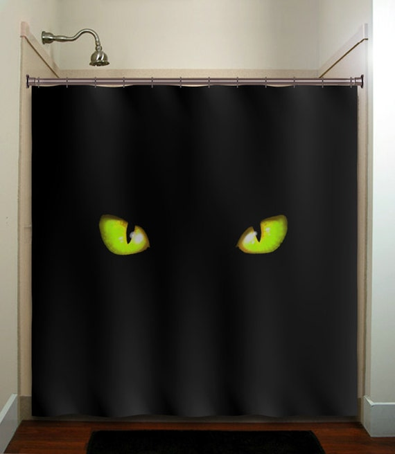 Cat shower curtains
