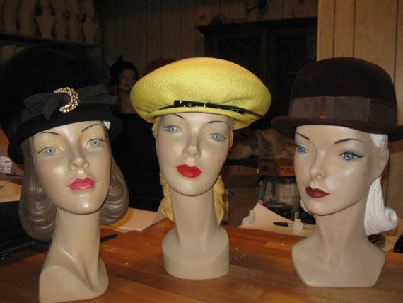 Susan #3 Mannequin Head, vintage mannequin head, vintage style mannequin head, antique head, old head, mannequin head
