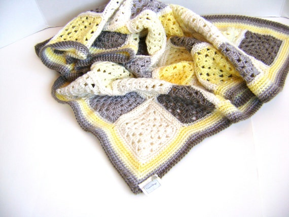 Crochet Pattern for Granny Cherub Baby Blanket - Perfect for any boy or girl INSTANT DOWNLOAD