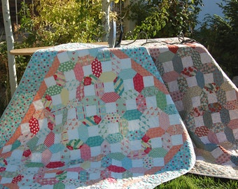 Shortnin' Bread Quilt Pattern by fresh cut quilts downloadable pdf Quilt pattern- baby, charm