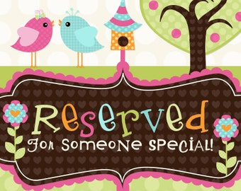 This is a reserved listing for a design your own Brother Sister Set