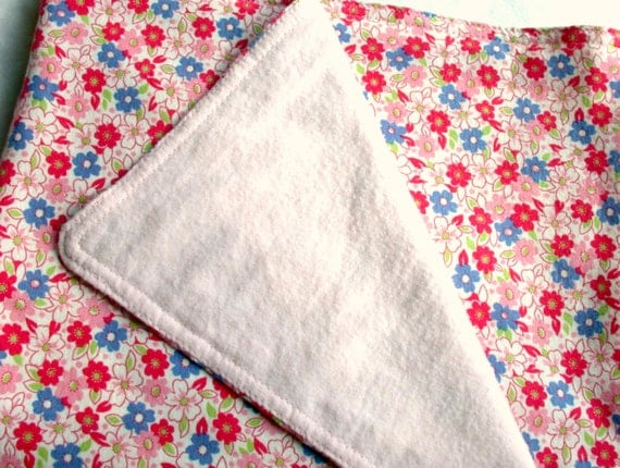 Baby Blanket - Cotton Jersey Knit & Flannel