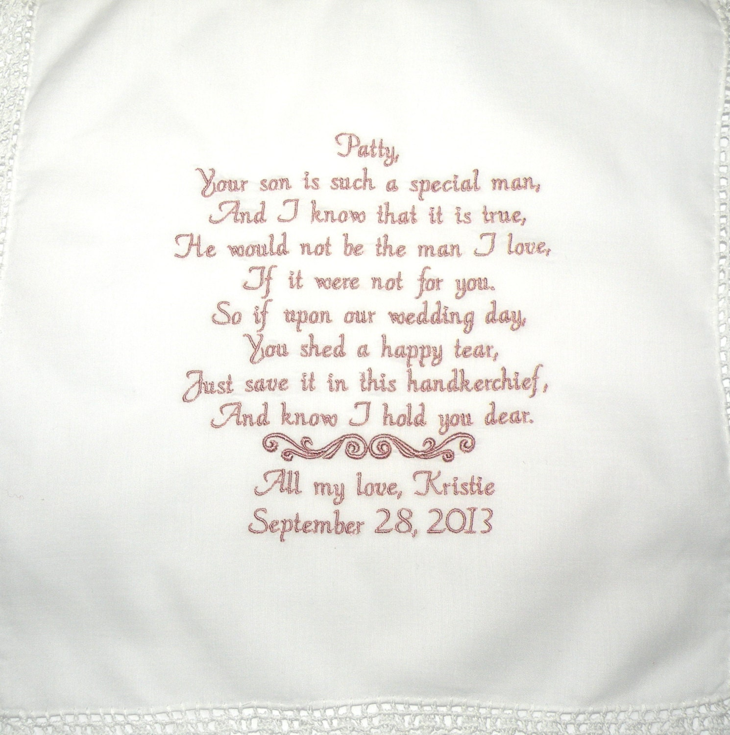 mother of bride poem etsy