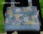 Quilted Purse Handbag Quilted Tote Bag Bow Style Bag  Purse Tote Handbag  Custom Made  by QuiltedCreationsbyMe
