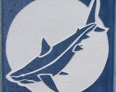 4x4 Shark Tile Coaster - SRA
