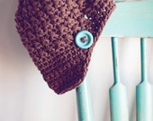Crochet PATTERN - Chunky Brim Hat - Size 12-4T to Adult Large - Instant Download
