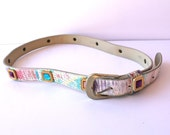 SALE Jeweled Rad 1990s Vintage Colorful Belt