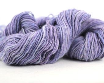 Handspun Yarn - Alpaca/Merino/Silk - Fingering