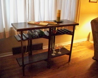 Folding Wine Table