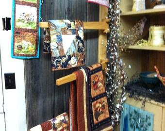 Hanging Quilt Rack