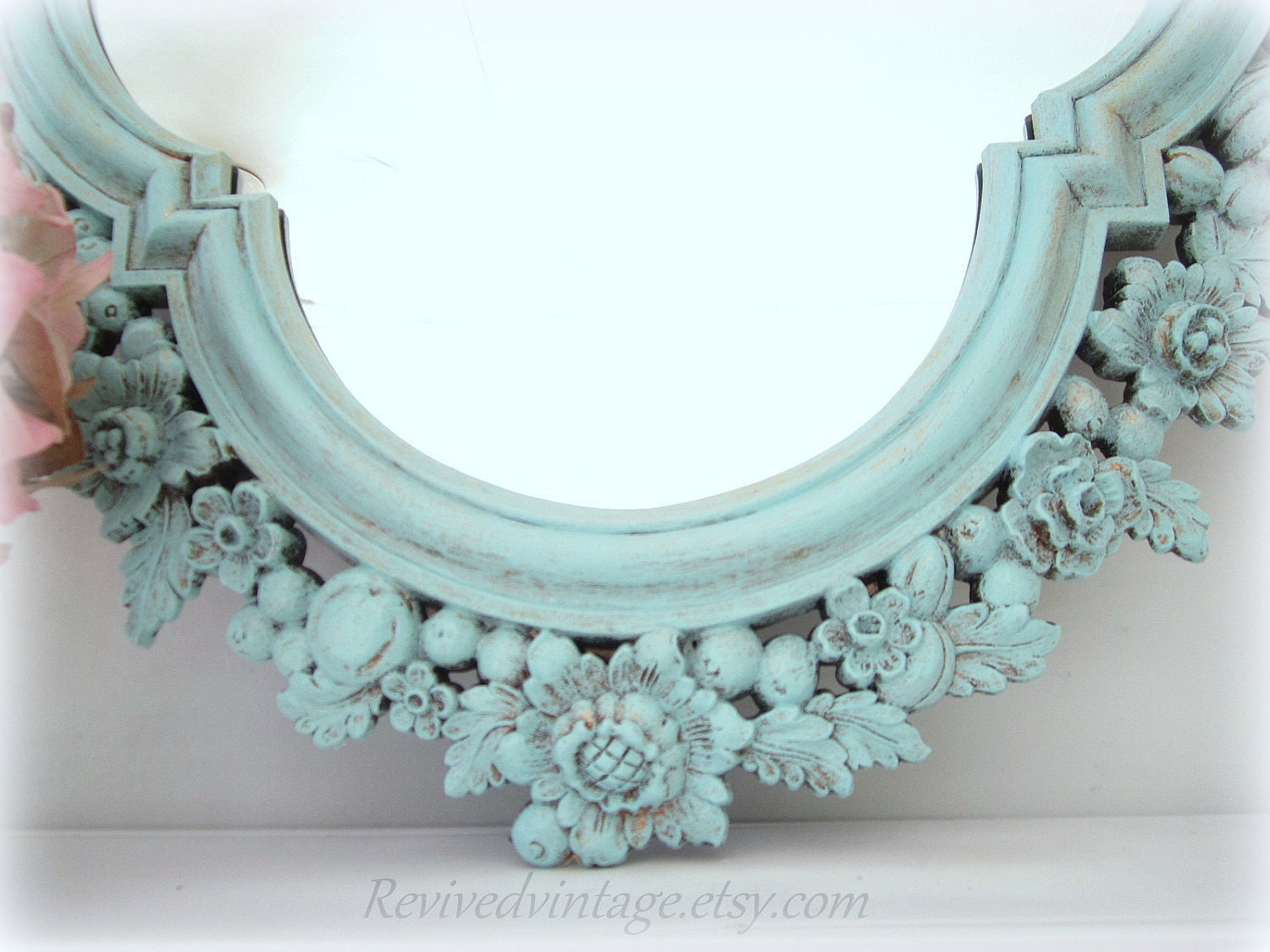 Decorative vintage mirrors for sale large mirror shabby chic for Big mirrors for sale
