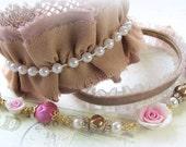 Vintage Style Cuff Bracelet Set - Three Piece Vintage Style Bracelet Set - Vintage Style Wedding Cuff Set