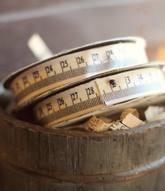 10 yard roll of thin tape measure ribbon