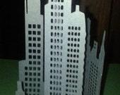 DIY 3D New York City skyline