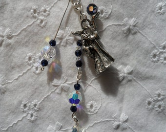 Wizard with CrystalBall  Dangle