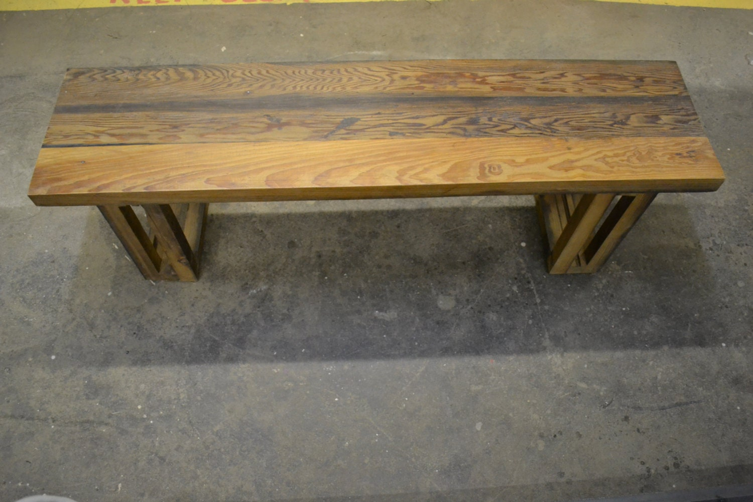 Reclaimed wood bench barn wood bench free shipping for Where to find reclaimed wood for free