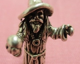 Sterling Charm - Heavy Wizard- A must have for any wizard or Harry Potter fan