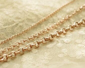 200cm of real copper  ring chain