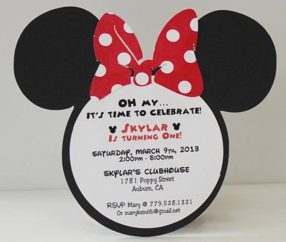 Mickey Mouse Invitations Wording as best invitation sample