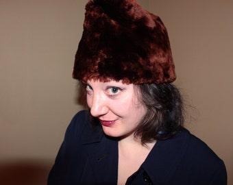 1950's beaver fur Hat