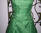 Adult Womens size Custom made Green Sparkle Tinkerbell 2 4 6 8 10