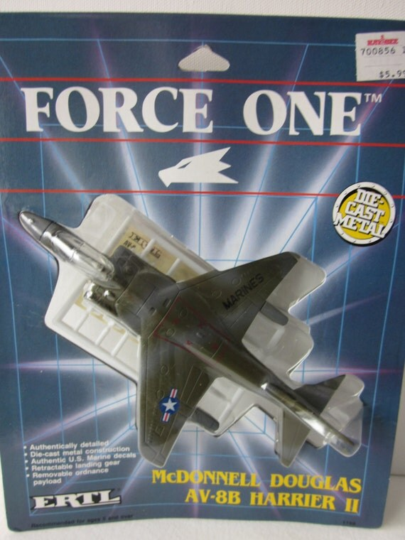 Ertl Force One Diecast Metal Planes Stealth Fighter Falcon