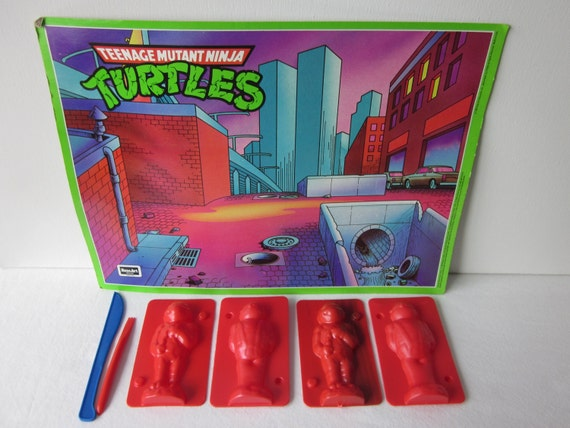 Teenage Mutant Ninja Turtles Play Dough Turtle Maker Molds