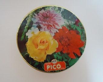 The Round 60s Spanish Sweets Tin Box.