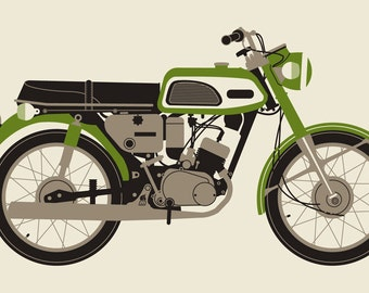 Green 1970 MOTORCYCLE