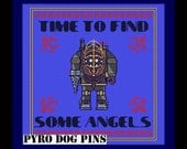 Time To Find Some Angels Pattern/PDF - Bioshock Cross Stitch INSTANT DOWNLOAD
