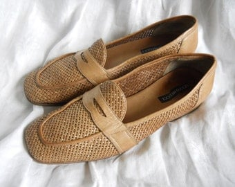 SESTO MEUCCI Heeled Penny Loafers