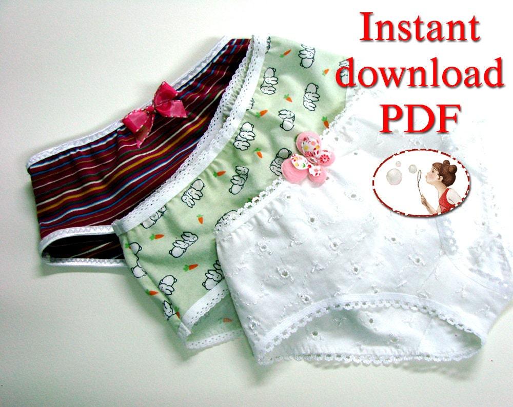 Patterns For Ladies Panties 116